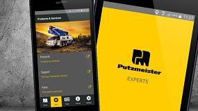 Foto de La app Putzmeister Experts añade nuevas funciones