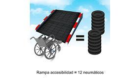 Foto de ¿Sabías que se fabrican rampas que facilitan la accesibilidad a partir de Neumáticos Usados?