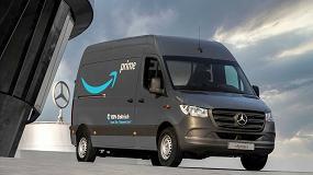 Foto de Amazon incorpora 1.800 furgonetas eléctricas Mercedes-Benz para el reparto en Europa