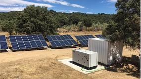 Foto de Transdiesel pone en marcha una nueva instalación fotovoltaica aislada