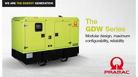 Foto de Pramac lanza su nueva línea de generadores diesel, la Serie GDW