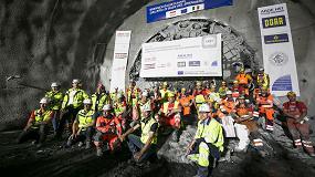 Foto de Megaproyecto Brenner Base Tunnel: primer hito logrado gracias a una tuneladora Herrenknecht