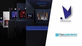 Foto de Rodamientos Feyc presenta la tecnología Roboze de impresión 3D
