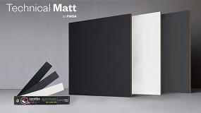 Foto de Cantisa crea cantos para las superficies ultramates Technical Matt de Finsa