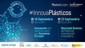 Foto de #InnovaPlásticos celebrará su III Edición en dos sesiones virtuales los días 16 y 23 de septiembre