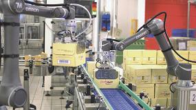 Foto de Los robots colaborativos mejoran la productividad de Cleca