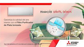 Foto de Mitsubishi Electric regala un filtro purificador por la compra de sus equipos MSZ-BT