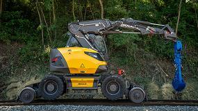 Foto de Mecalac lanza 216MRail, su nueva excavadora ferroviaria