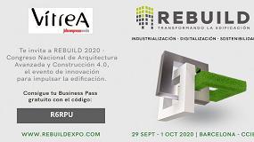 Foto de ¡Aprovecha la invitación de Vítrea para visitar REBUILD!