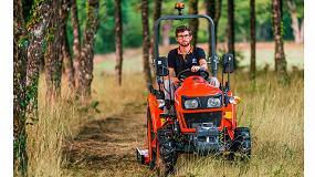 Foto de Nuevos tractores compactos E Kubota Serie EK1