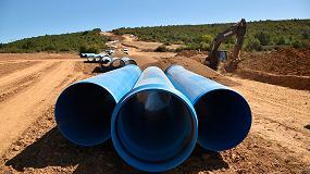 Foto de Tuberías TOM de PVC-O con 50 años de garantía, la revolución en el mercado del transporte de agua a presión