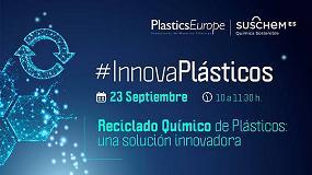 Foto de La segunda sesión de #InnovaPlásticos se centrará en el reciclado químico de plásticos