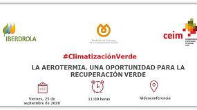 Foto de La Comunidad de Madrid organiza dos webinar sobre 'La aerotermia. Una oportunidad para la recuperación verde'