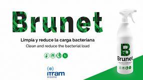 Foto de Brunet, el desengrasante de Itram Higiene que limpia y reduce la carga bacteriana
