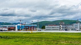 Foto de La patentada tecnología de cámaras Panomera de Dallmeier, presente en el aeropuerto ruso de Yuzhno-Sakhalinsk