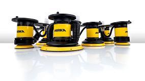 Foto de Mirka presenta una solución robótica avanzada de acabado de superficies para clientes industriales