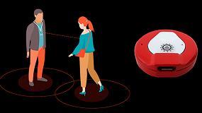 Foto de Corona Tag, la nueva solución de Kramer para el monitoreo y el registro de la distancia social