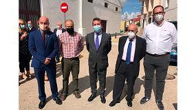Foto de Spit en la inauguración del centro de espeleología de referencia en España