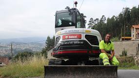 Foto de Excavaciones El Molino vence sus prejuicios y adquiere una excavadora Bobcat E62