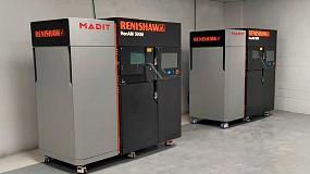 Foto de Madit Metal apuesta por los sistemas Renishaw con la instalación de dos impresoras 3D RenAM 500M