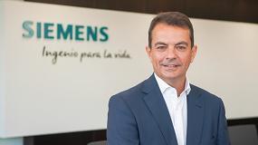 Foto de José Ramón Castro, nuevo director general de Siemens Digital Industries en España