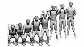 Foto de IBV trabaja en una tecnología disruptiva para capturar el movimiento humano en 3D