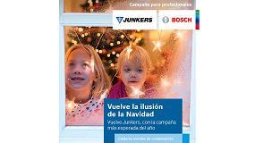 Foto de Junkers lanza la campaña 'Vuelve la ilusión de la Navidad'