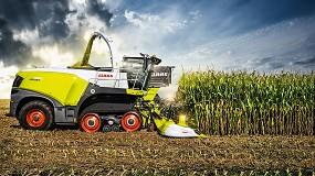 Foto de Nuevo cabezal de maíz Claas Orbis 900 con 3 m de anchura de transporte y protección plegable automática