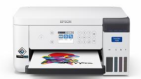 Foto de Epson lanza SureColor SC-F100, su impresora A4 para sublimación