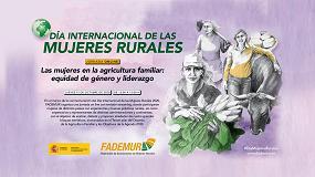 Foto de Fademur prepara un evento online especial en el Día Internacional de las Mujeres Rurales