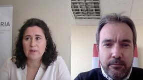Foto de VídeoEntrevista a Araceli García, secretaria general de Tecniberia: