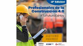 Foto de Fundación Telefónica, CEOE y la Fundación Laboral de la Construcción lanzan la segunda edición del 'Nanogrado de la Construcción 4.0'