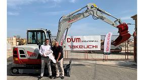 """Foto de Miniexcavadora TB370 de Takeuchi: """"La innovadora todoterreno"""""""