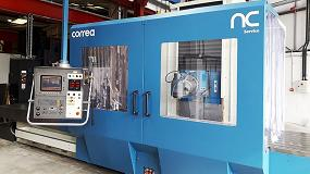 Foto de NC Service instala en Inglaterra una fresadora Correa A30/40 reconstruida
