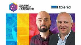 Foto de Roland presenta sus soluciones para la decoración de interiores y la impresión textil en la Cumbre Virtual de FuturePrint