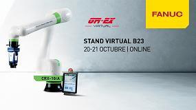 Foto de Fanuc Iberia presenta en Global Robot Expo su nuevo robot colaborativo CRX-10iA