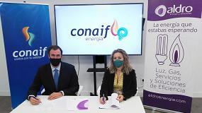 """Foto de Conaif firma un acuerdo con Aldro para comercializar energía bajo la nueva marca """"Conaif Energía"""""""