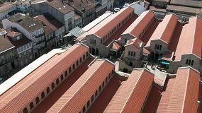 Foto de La teja cerámica, uno de los materiales constructivos más alineados con los ODS