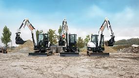 Foto de Bobcat presenta sus nuevas miniexcavadoras de 5-6 toneladas de la serie R2