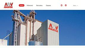 Foto de Nueva web corporativa de Nanta con más herramientas para los ganaderos