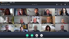 Foto de La AEI Tèxtils organiza un encuentro virtual de socios
