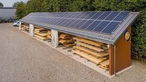 Foto de Carpintería Schmidt: 40% más de capacidad de almacenamiento con placas solares en el tejado