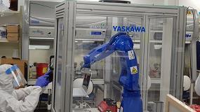 Foto de Yaskawa Israel instala el primer sistema robótico en el laboratorio que el gobierno ha destinado al COVID-19
