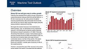 Foto de AFM participa en la elaboración del informe de prospectiva Global Machine Tool Outlook