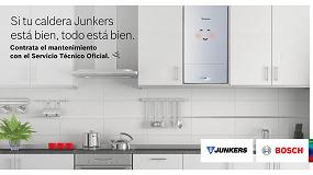 Foto de Junkers ofrece el servicio de mantenimiento a los usuarios de sus calderas