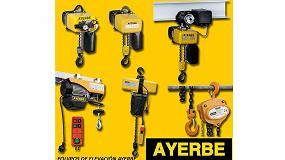 Foto de Ayerbe presenta los nuevos polipastos eléctricos GIS GP1500 y GP2000