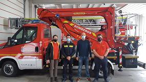 Foto de Palfinger hace entrega de maquinaria de elevación a la Diputación de Salamanca
