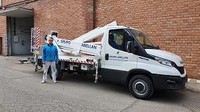 Foto de Transgrúas entrega a Grupo Abellán una plataforma Multitel Pagliero MX 250