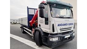 Foto de Transgrúas Vitoria entrega a Andamios Europa una grúa Fassi F195A.0.25 e-active