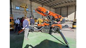 Foto de Grúas Rigar incorpora la grúa Jekko SPX532 a su flota de maquinaria